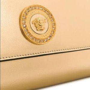 Versace Bags - New Versace Gold Medusa Icon Swarovski Crystal Bag 97dd695d533b0